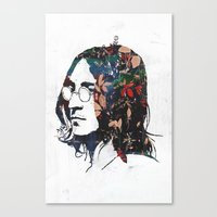 dreamer Canvas Prints featuring Dreamer by Alex Cherry