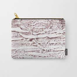 Brown marble Carry-All Pouch