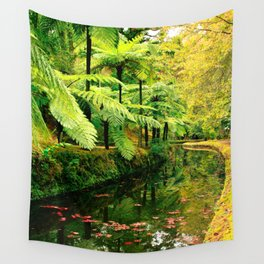 Autumn in the park Wall Tapestry