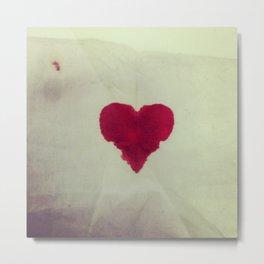 Keep Bleeding Love Metal Print