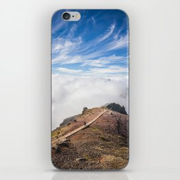 Mountains on Madeira iPhone Skin