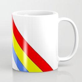 Flag of romania 4 -romania,romanian,balkan,bucharest,danube,romani,romana,bucuresti Coffee Mug