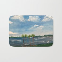 A View of The Indian River Bath Mat