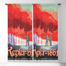 NASA Visions of the Future - Kepler-186f Blackout Curtain