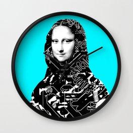 Mona Lisa Platina 4 Wall Clock