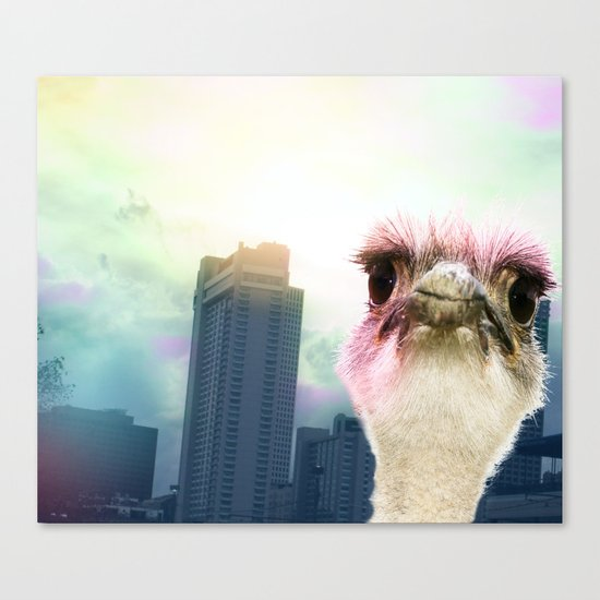 Ostracized in the City Canvas Print