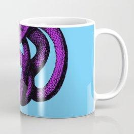 Snek 4 Snake Purple Blue Coffee Mug