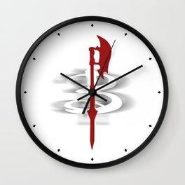 Buffy's Scythe Wall Clock