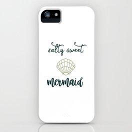 Salty Sweet Mermaid iPhone Case
