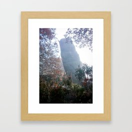 Autumn at Hell Hole Framed Art Print
