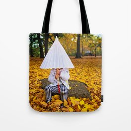 Girl with a Parasol Tote Bag