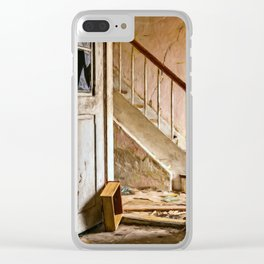Lost Places Clear iPhone Case