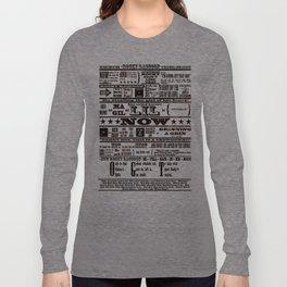 Rocky Raccoon Long Sleeve T-shirt