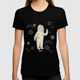 Yeti - Cute Cryptid T-shirt