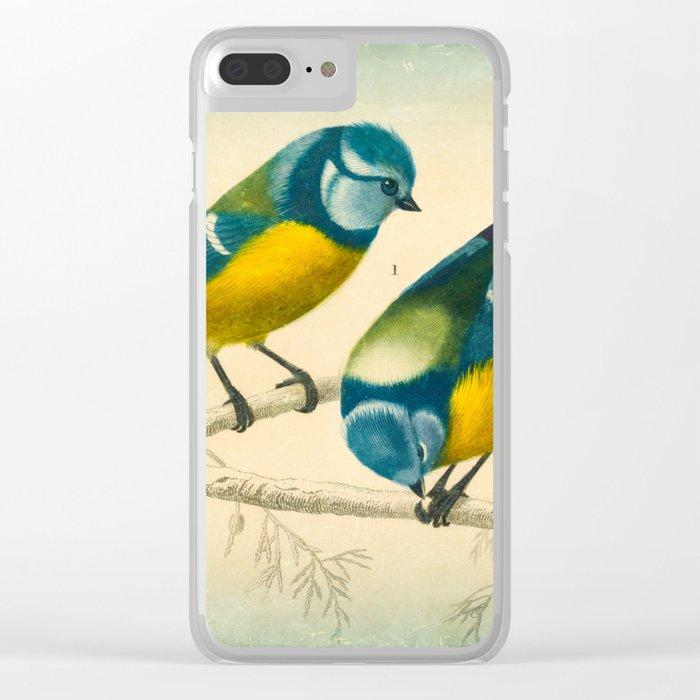 2 Little Birds Clear iPhone Case