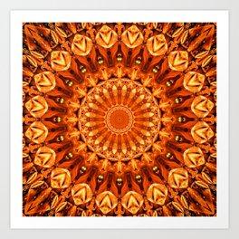 Mandala energy no. 2 Art Print