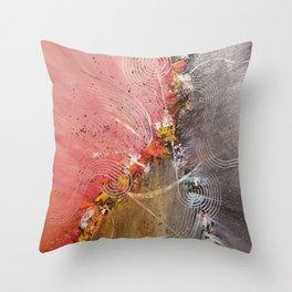 Seismic Vibes Throw Pillow