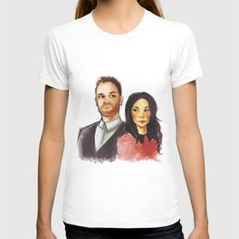 elementary: holmes and watson T-shirt