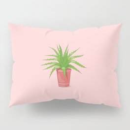 aloe on the pink Pillow Sham