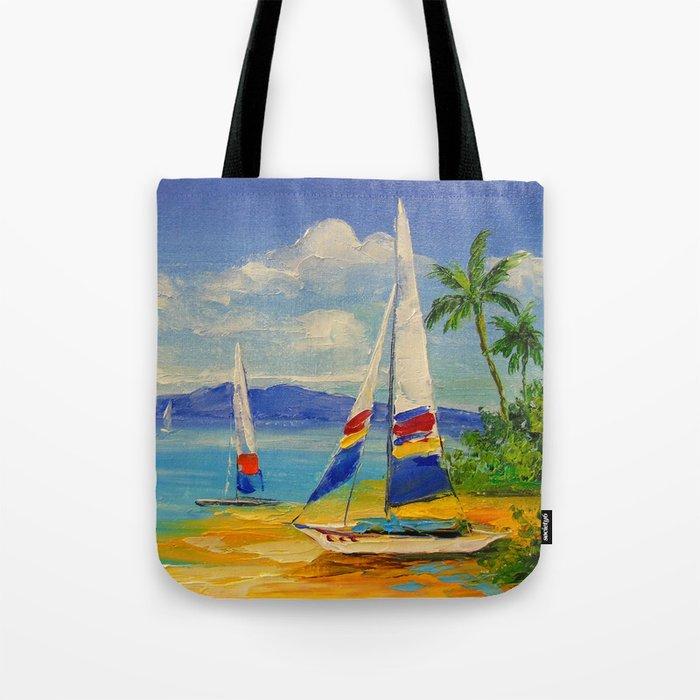 Morning in the Bahamas Tote Bag