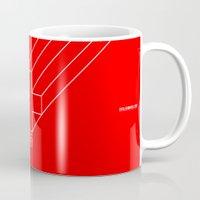 switzerland Mugs featuring 0008 - Switzerland by FIFAMATIC