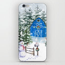 Winter Farm iPhone Skin