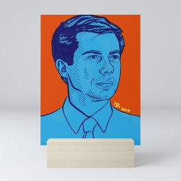 Mayor Pete Mini Art Print