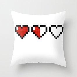 One More Megabite Throw Pillow