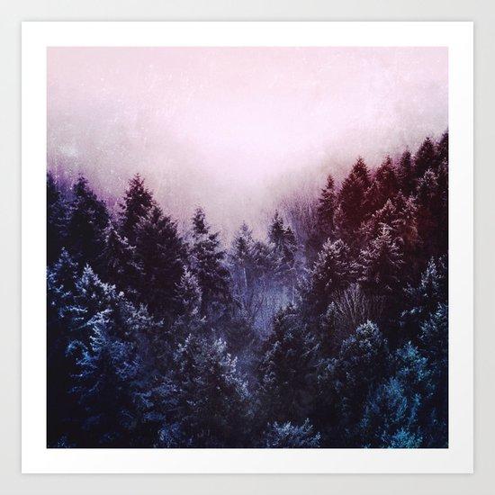 Winter sound Art Print
