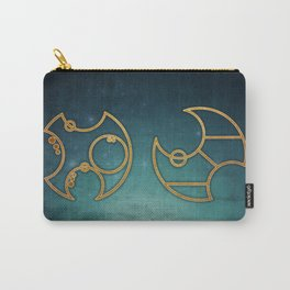 Doctor Who in Circular Gallifreyan Carry-All Pouch