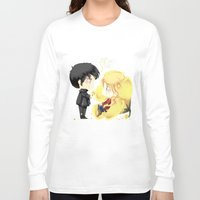 ouat Long Sleeve T-shirts featuring OUAT - Buttercup Princess by Yorlenisama