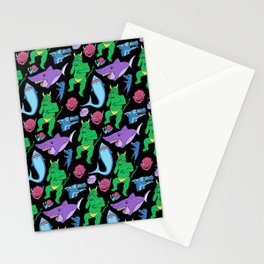 Monster Spread Stationery Cards