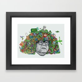 DERIVATIVE! Framed Art Print