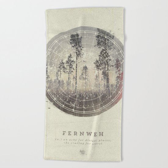 Fernweh Vol 4 Beach Towel