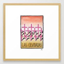 Las Olvidadas Framed Art Print