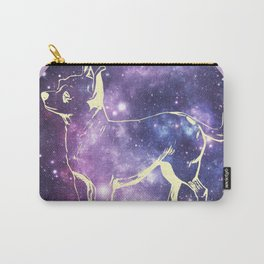 Space Chihuahua Carry-All Pouch