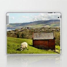 View of Robin Hoods Bay Laptop & iPad Skin