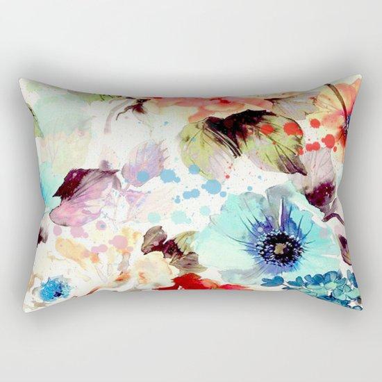 Poppies 03 Rectangular Pillow