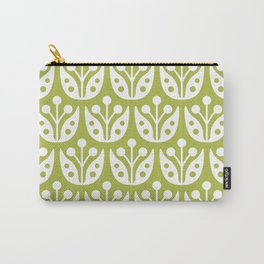 Mid Century Flower Pattern 5 Carry-All Pouch