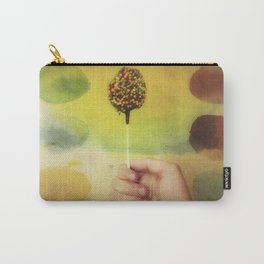 Once Upon a Time a Colorful Candy Carry-All Pouch