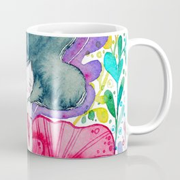 Floral Girl Coffee Mug