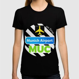 MUC MUNICH STICKER T-shirt