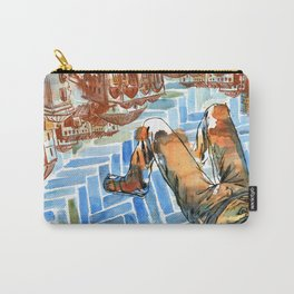 Asleep in Foreign Cities Carry-All Pouch