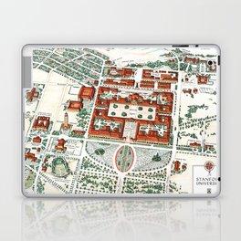 STANFORD CALIFORNIA University map Laptop & iPad Skin