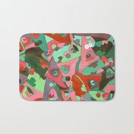 Surprised Patric Bath Mat
