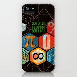 Math Game in black iPhone Case
