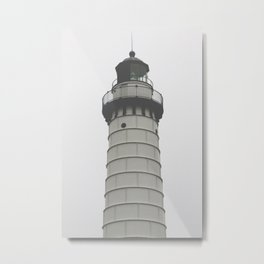 cana island lighthouse I Metal Print