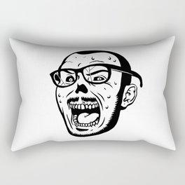 Owl Vision Logo (Zombie Face) Rectangular Pillow
