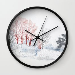 Some polder somewhere Wall Clock
