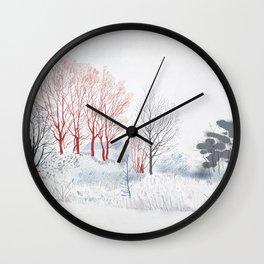 Some polder somewhere Wall Clock